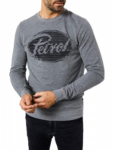 Ανδρικά Φούτερ Petrol Industries | Crew Neck Hoodie | Mens SweatShirts