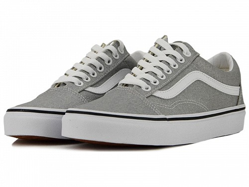 Γυναικεία Παπούτσια Vans | Old Skool Classic Silver | Womens Shoes